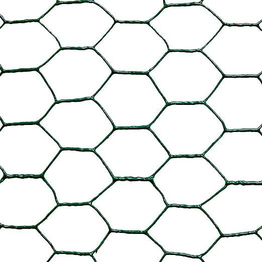 Catral 55020011 - Malla galvanizada hexagonal, 50 x 300 x 4 cm ...