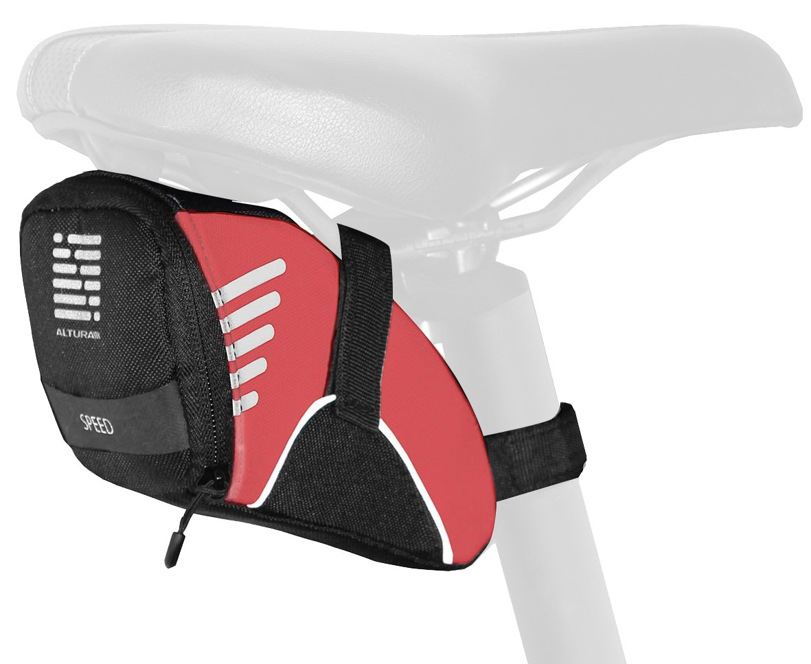 Altura Men's Speed Seat Pack, Red, Small B00HCB9A5G