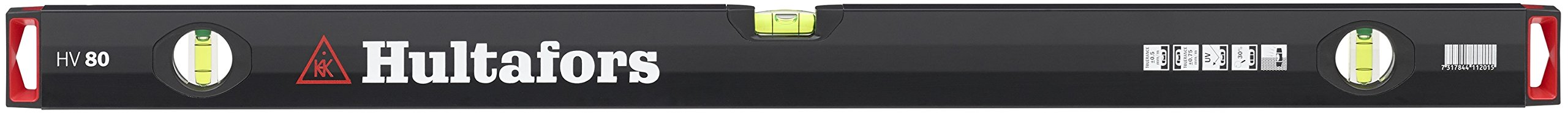 Hultafors 411201 HV 80 of aluminium Spirit Level