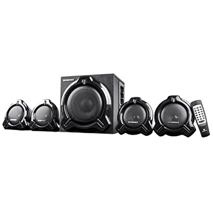 Zebronics Computer Multimedia Speaker 4.1 with Bluetooth, AUX, SD, MMC and FM - Electro
