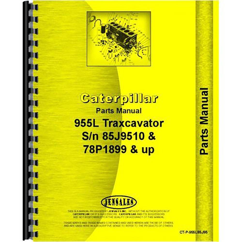 Amazon.com: For Caterpillar 955L Traxcavator 85J9510+ Parts Manual (New)  [Plastic Comb] [...: Industrial & Scientific