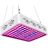 TOPLANET Réflecteur LED pour Plante 300w LED Horticole Croissance Lampe Culture Grow Light Full Spectrum Bleu pour Hydroponique/Grow Box/Serre Plants Germination,Floraison