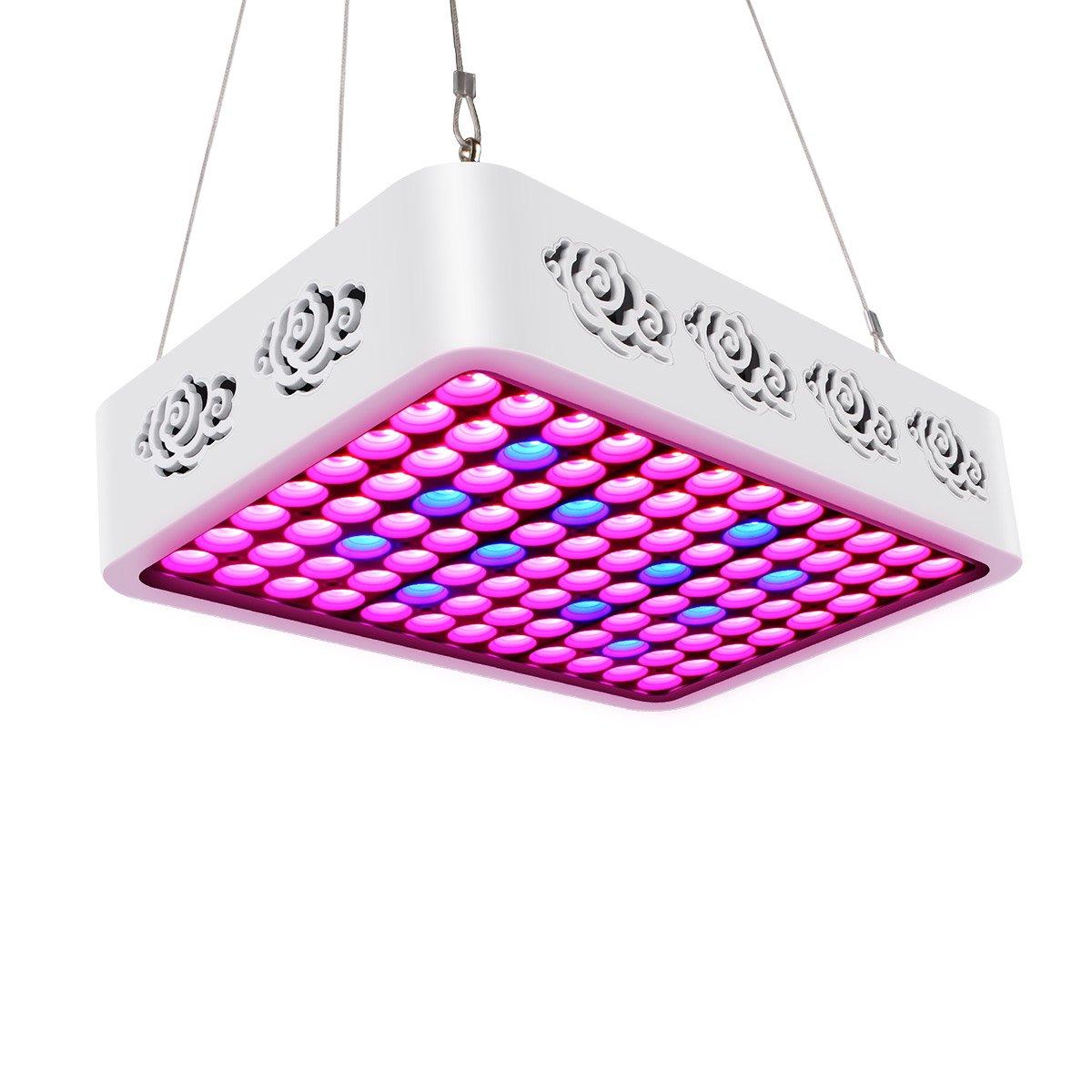 Toplanet 81w Led Pflanzenlampe Wachsen Licht Streifen Wasserdicht für Indoor Grow Gemüse Yougelai HY-85CM-27*3W-RB