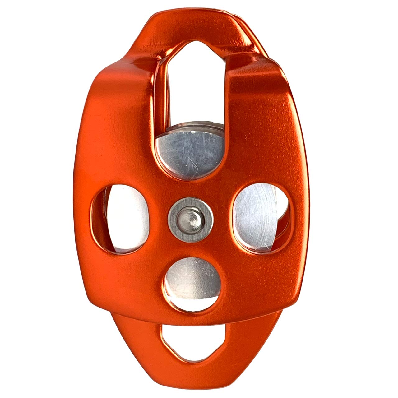 ProClimb 30 kN CE//UIAA Certified Large Rescue Pulley Single//Double Sheave