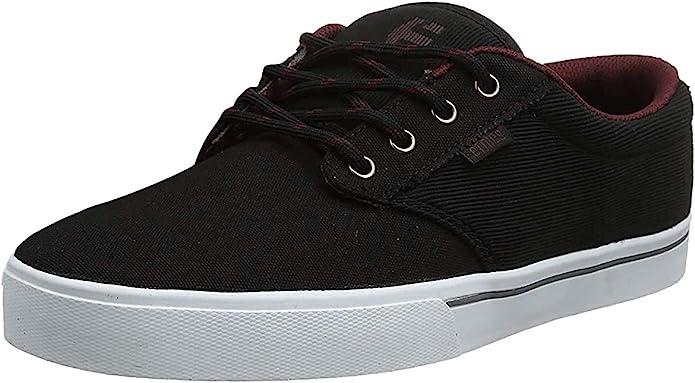 Etnies Jameson 2 Eco Sneakers Skateboardschuhe Schwarz/Rot/Weiß