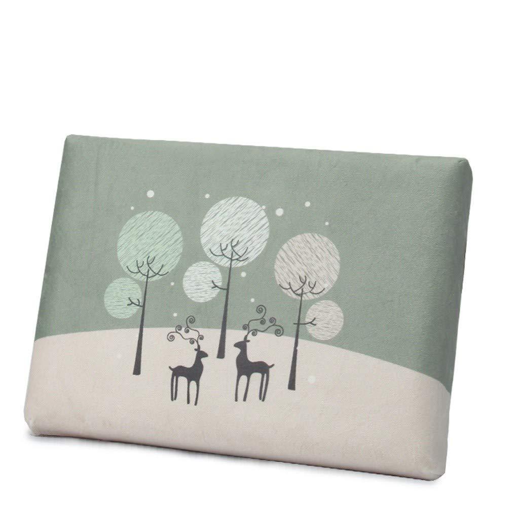 Ace Dzdd 34cmX24cmX4cm Rectangular Cushion, Memory Cotton Pad Can Relieve Waist Pain Students' Classroom Cushion~Simple Modern (Color : B) by Ace Dzdd