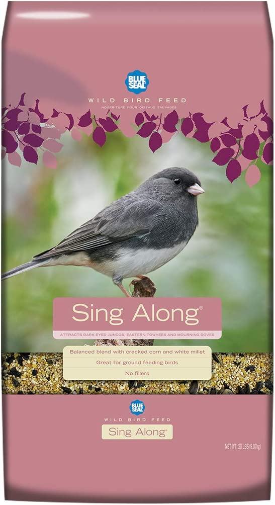Sing Along Premium Wild Bird Seed 20 Pound Bag
