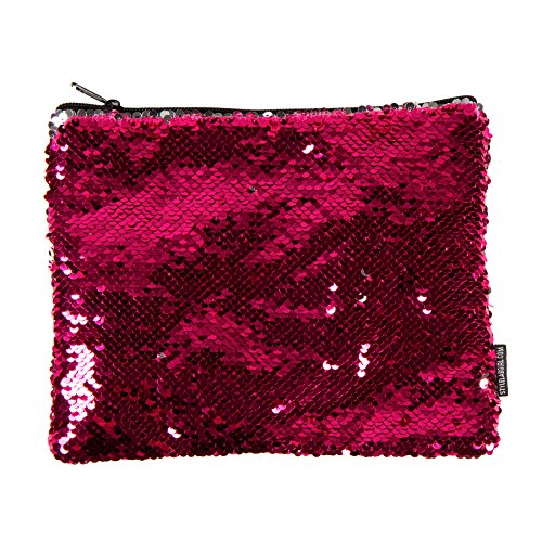 Style.Lab by Fashion Angels Magic Sequin Pouch - Pink/Silver
