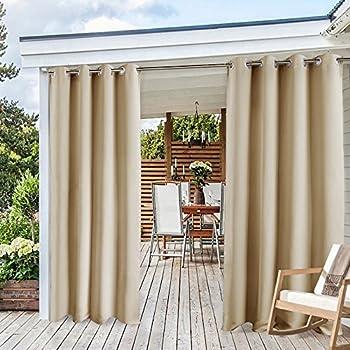 Amazon Com Pergola Outdoor Curtain Panel Drapes Ryb