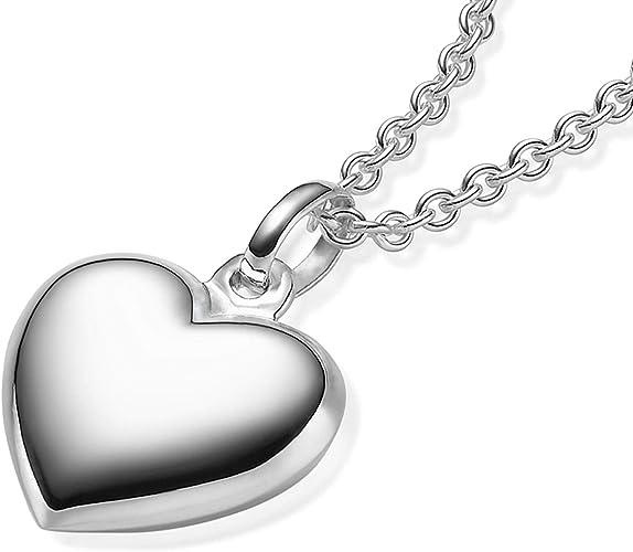 Anhänger Kette Silber Sterling Box mit Botschaft Geschenk Liebe