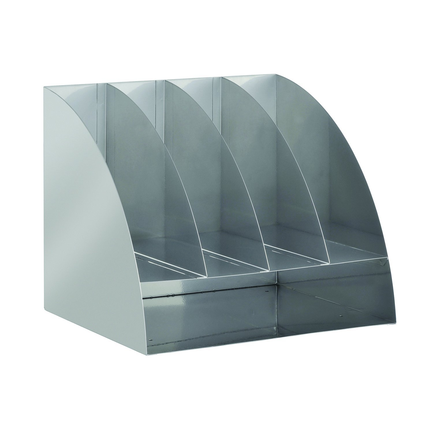 STEELMASTER Steel 11 x 13 x 11 Inches, 4-Way Corner Organizer, Silver (264C10050) MMF Industries