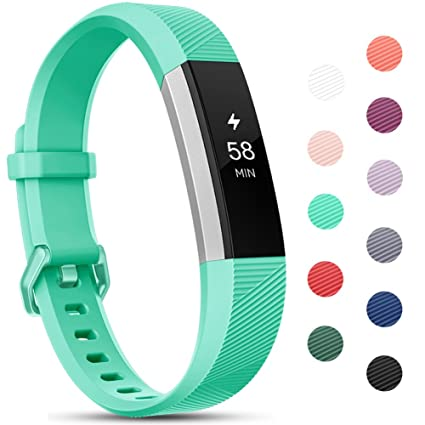 Onedream Compatible para Fitbit Alta HR Correa/Alta Strap/Ace Pulsera Mujer Hombre Recambio Silicona Correa (sin Reloj), S/L