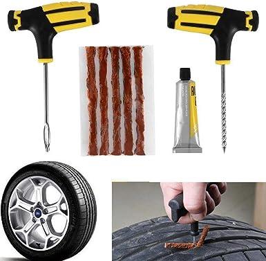 Kit de Herramientas para reparación de neumáticos de Coche, Kit de ...
