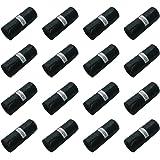 Hundekotbeutel Hundehaufentüten Schwarz 32 x 22 cm 240 Stück Set auf 16 Rollen