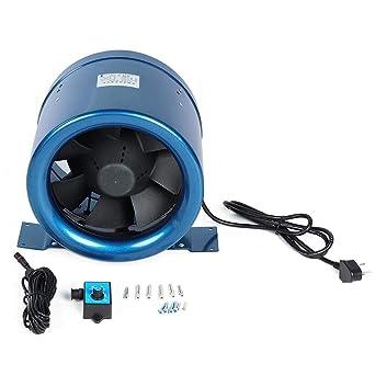 10Silent Ventilador de conducto en línea, 1065CFM EC PWM ...