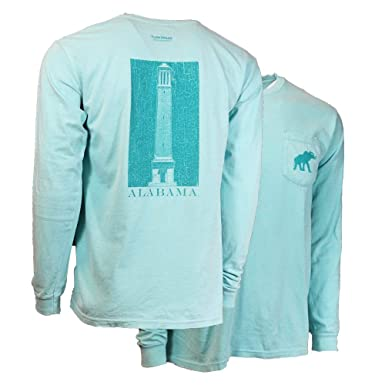bb202b6f Alabama The Chimes Comfort Colors Long Sleeve Tee (M, Chalky Mint)