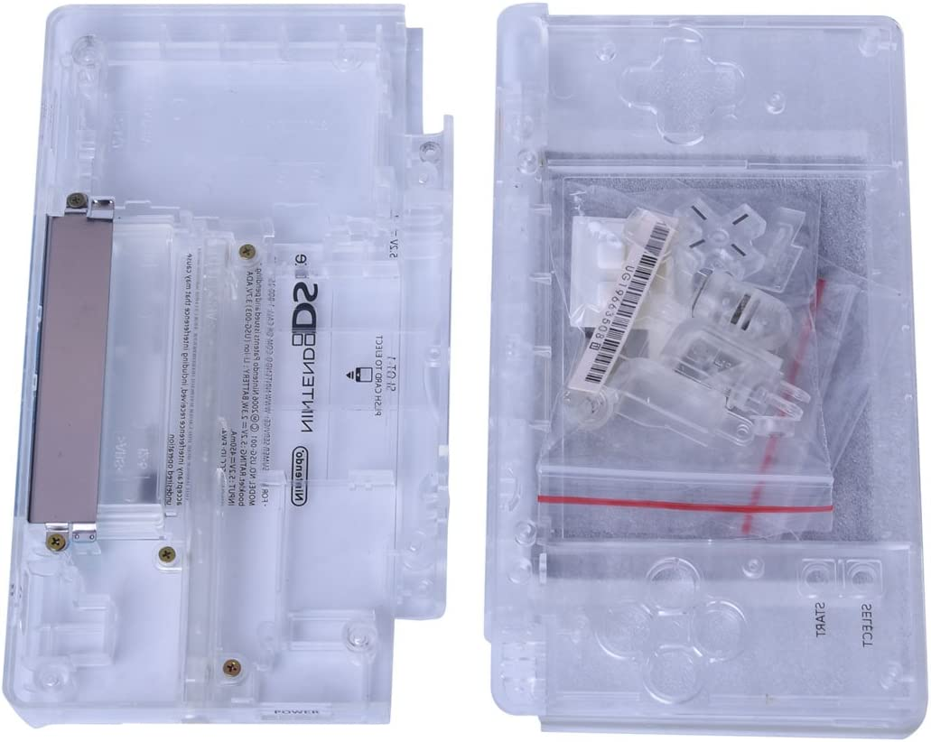 Amazon.com: Transparent NDSL replacement Case, Full Repair ...