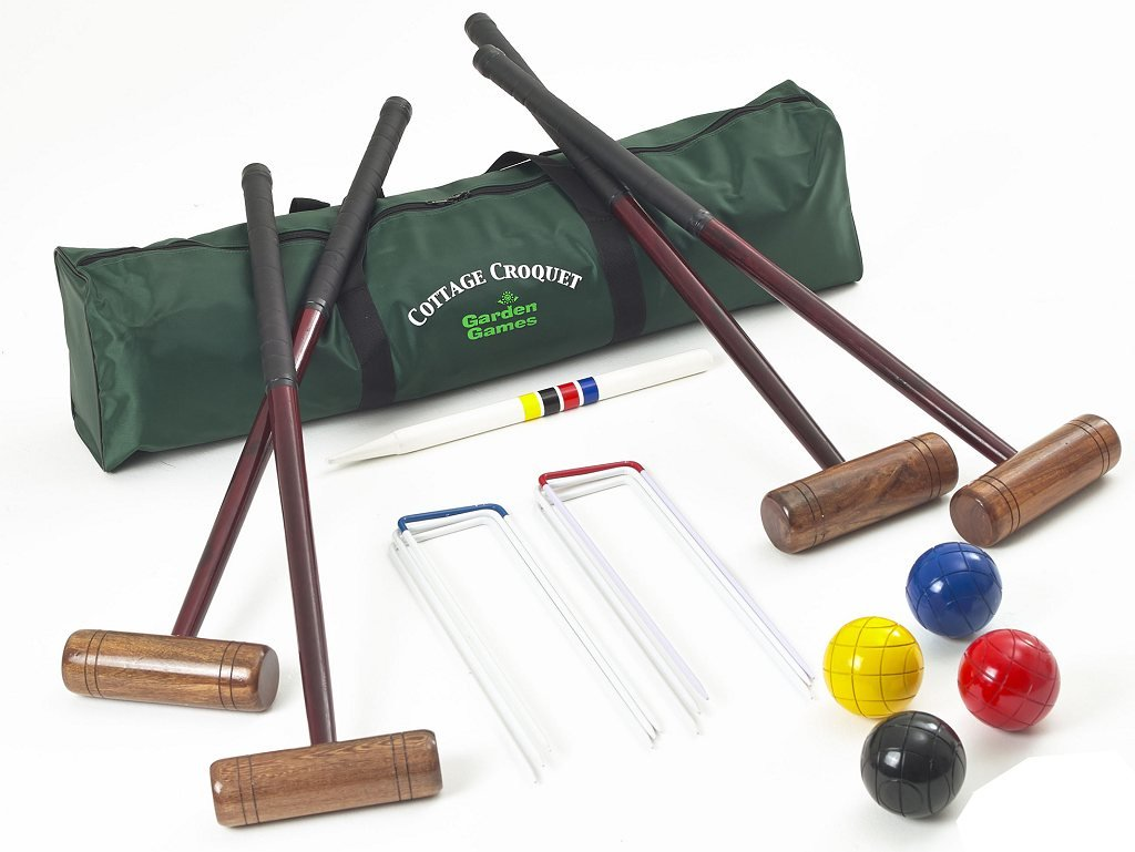 Cottage Croquet Set (in a bag) by Garden Games