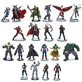 avengers loki figure - Marvel Avengers Mega Figurine Set