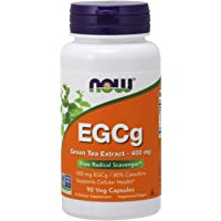 Now Foods EGCg Green Tea Extract Veg Capsules, 400mg, 90ct