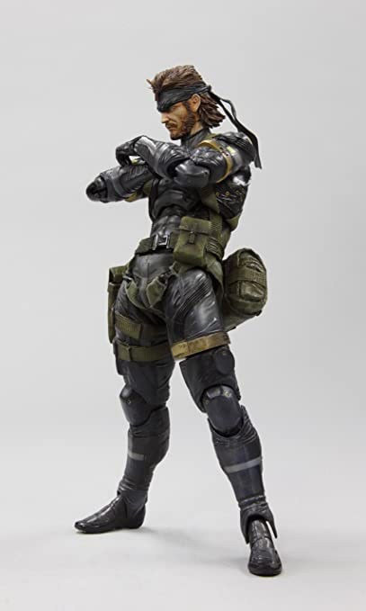 Metal Gear Solid Peace Walker Square Enix Play Arts Kai Action Figure Snake Sneaking Suit