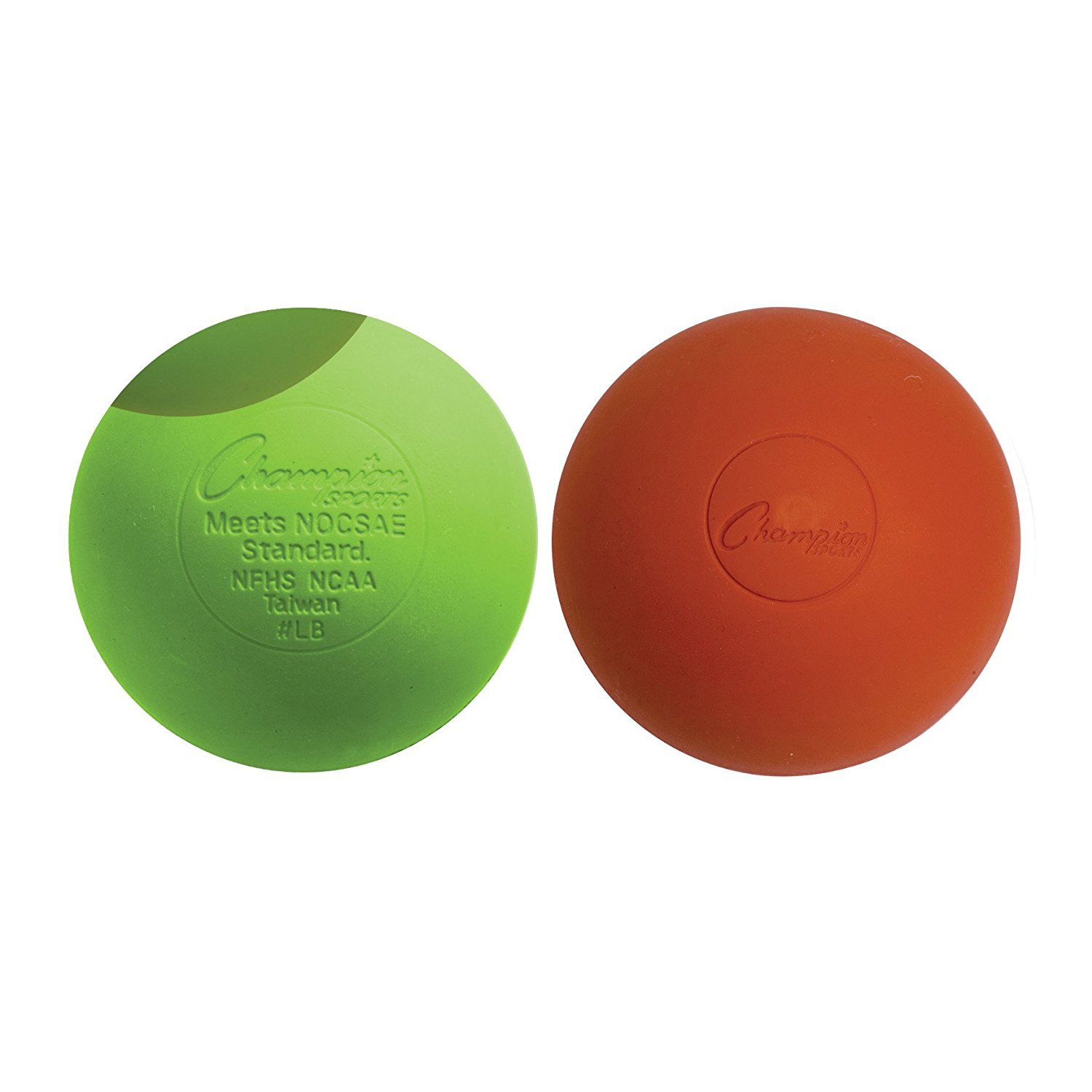 Lacrosse Balls (2-Pack) - Green-Pink