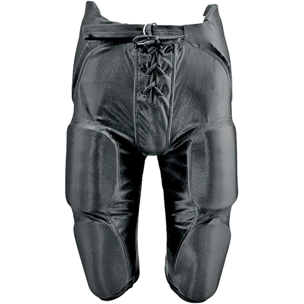 Martin Sports Integrated Dazzle Football Pants-Youth-Black-Large by Martin Sports (Image #2)