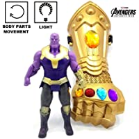Metro Toy's & Gift Avengers Titan Hero Action Figure 6.5 Inch with Thanos Hand, Limited Edition, Good Quality