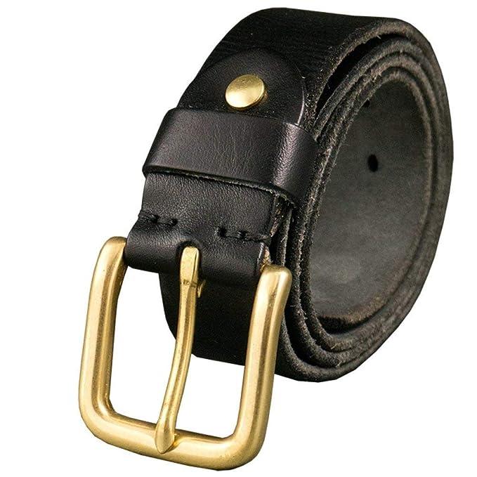 6efcc42e5b0 ... Ocio Pantalones Moda De Vaqueros Clásicos Mode De Marca Cinturón De  Cintura Cinturón De Hombre Cinturones De Cuero Hombres  Amazon.es  Ropa y  accesorios