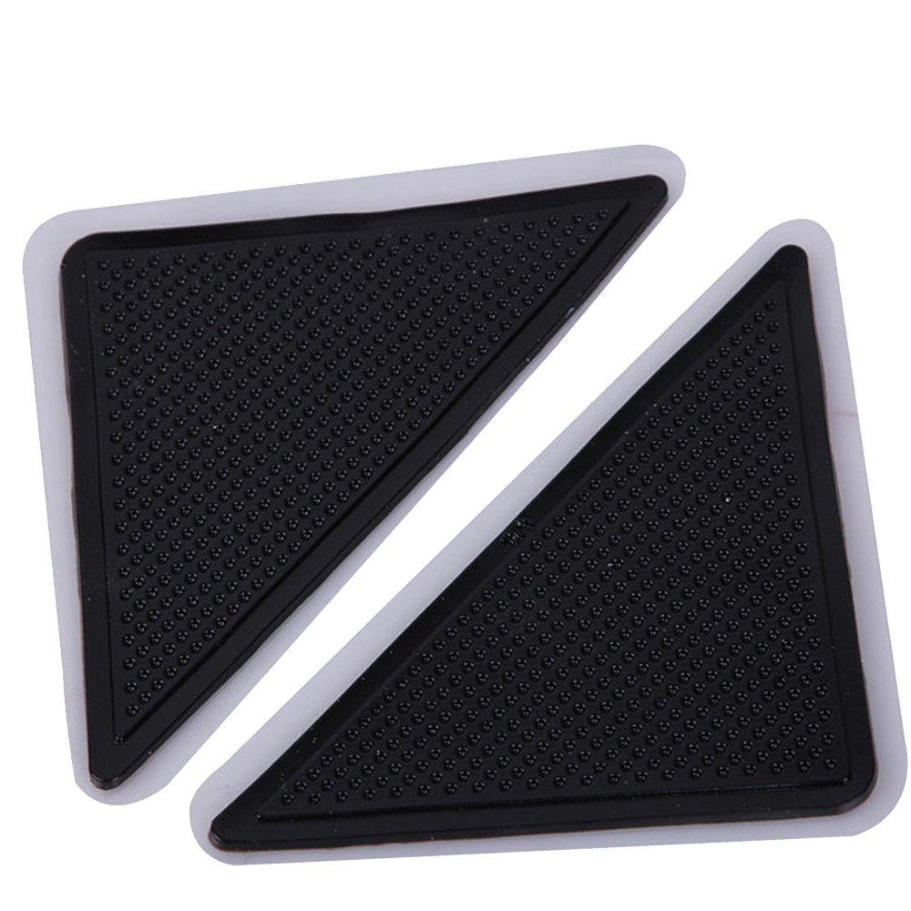 Sikye 4 X Carpet Pad Non Slip Tri Sticker Anti Slip Mat Discs Tape Non Slip Stickers for Tubs Bath Reusable