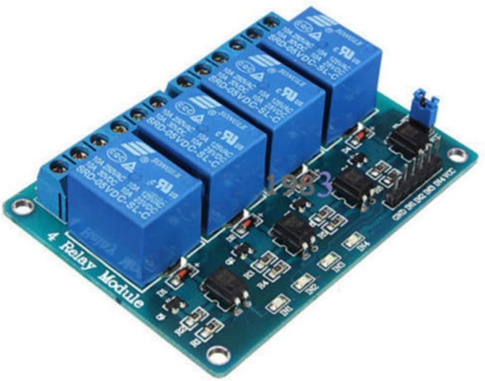 For Pic Avr Dsp Arm Arduino Relay Module 5V Two 2 Channel With Optocoupler Ic qs