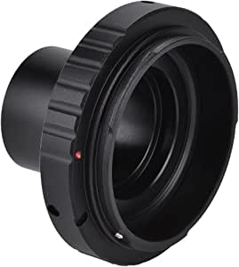 Acouto 1.25in Astronomical Telescope Mount Adapter T SLR Ring for Canon Camera Lens