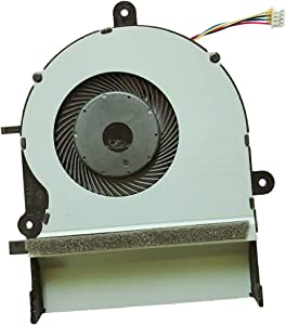 RJUNGXY Replacement Compatible Laptop CPU Cooling Fan Cooler for ASUS K501LX K501UX A501L K501U K501LB K501 K501L V505L K501LB5200 Delta DC5V 0.50A NS85B01-14M03 13NB08Q1T01011