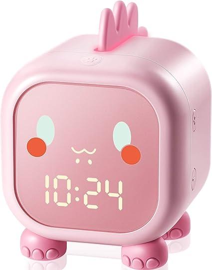 Homealexa Despertador Infantil, Reloj Despertador para Ni&am