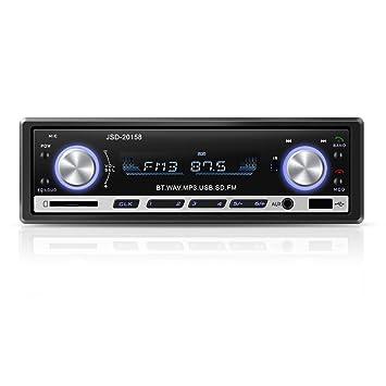 Radio Radio Coche RDS YOHOOLYO Bluetooth Auto Radio FM USB MP3 ...