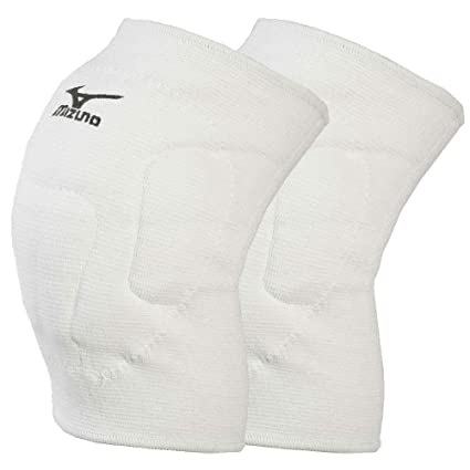 a369087bccc2b Amazon.com: Mizuno vs-1 Volleyball Knee Pads [White]-Large: Sports ...