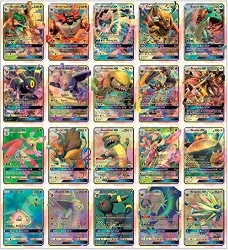 Pokemon TCG GX - Sun & Moon Booster Large trading card 20 Pcs Card