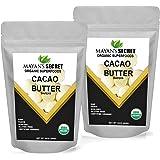 Mayan's Secret UDSA Certified Organic Cacao Butter Wafers, 2lb Naturals Raw Unrefined, Non-Deodorized, | Keto | Vegan