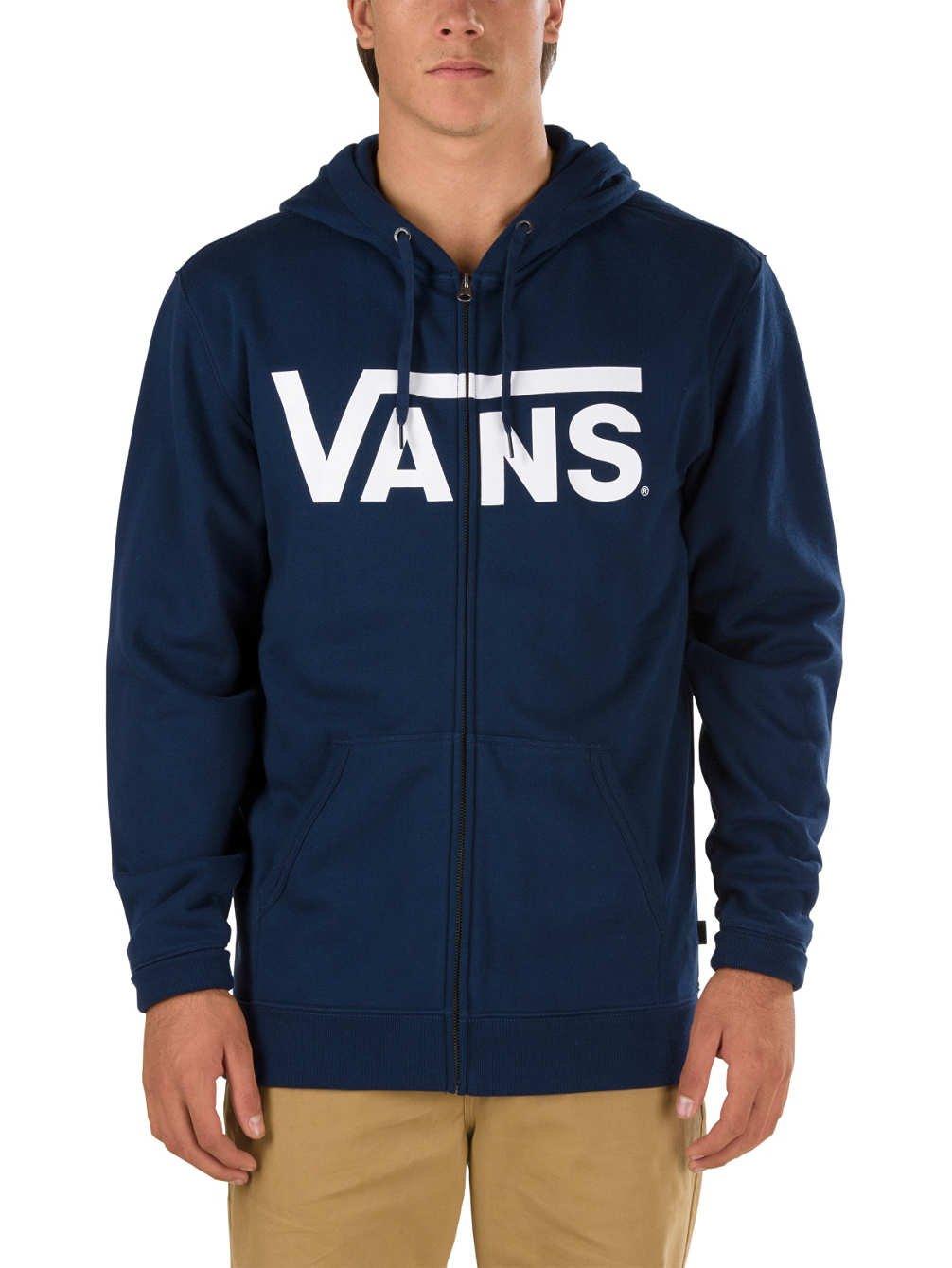 45d12c7f51 Vans Classic Zip Hoodie Men s Sweatshirt  Vans  Amazon.co.uk  Clothing
