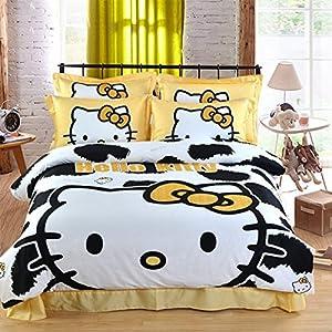 Casa children 100 cotton series cow pattern - Casa hello kitty ...
