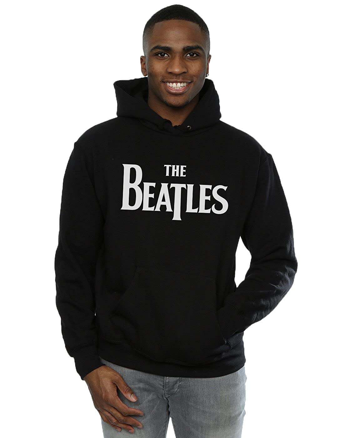 The Beatles Herren Drop T Logo Kapuzenpullover