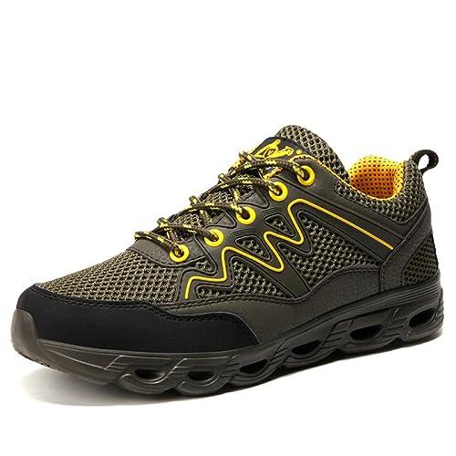 Calzado Deportivo Se Deslizan Malla De Zapatos para Caminar: Amazon.es: Zapatos y complementos