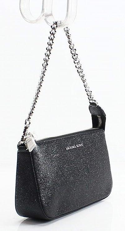 64766d417a3235 Amazon.com: Michael Kors Womens Chain Convertible Clutch Handbag Black  Small: Clothing