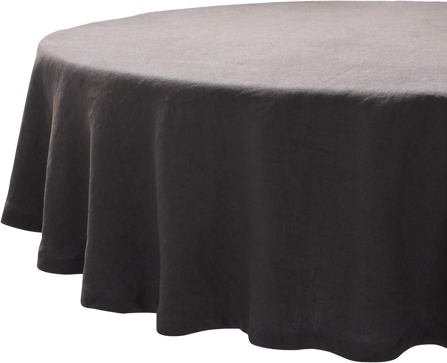 Sur La Table Round Linen Tablecloth, 7034;