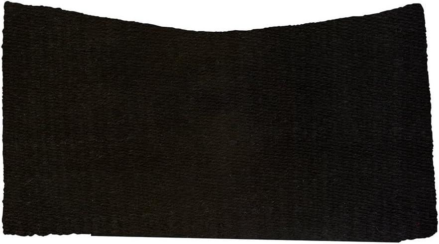Black Weaver Leather Contoured Under Blanket