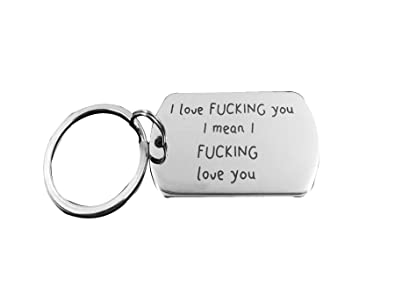 Amazon Com Nextstone I Love You Lettering Tag Valentine S Day Key