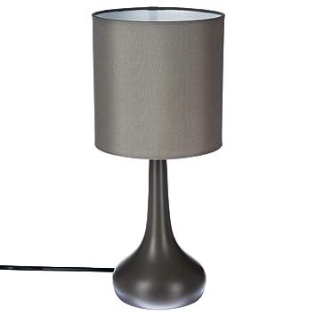 Lampe De Chevet Tactile Gris Amazon Fr Cuisine Maison