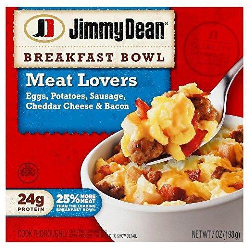 JIMMY DEAN BREAKFAST BOWL MEAT LOVERS 7 OZ PACK OF 3