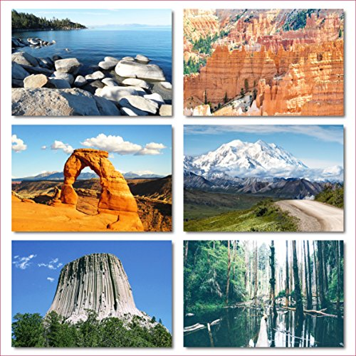 US National Parks postcards pack - Set of 25 individual postcards featuring America's national parks and natural landmarks Photo #4