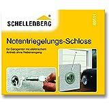 Schellenberg 60511 Verrou avec système de déverrouillage d'urgence pour garage